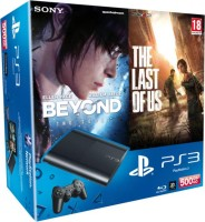PS3 500 Go + Beyond Two Souls + The Last of Us