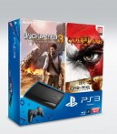 Pack PS3 + Uncharted 3 + God of War III