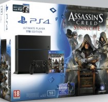 PS4 1 To + Assassin's Creed Syndicate + Watch_Dogs