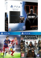 PlayStation 4 1 To+ Call of Duty Black Ops III + FIFA 16 + Assassin's Creed Syndicate
