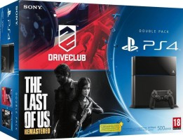 "PS4 pack ""DriveClub + The Last of Us Remastered"""