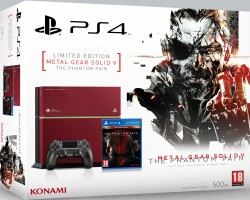 "PS4 édition limitée ""Metal Gear Solid V: The Phantom Pain"""