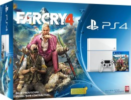 "Console PS4 blanche pack ""Far Cry 4"""