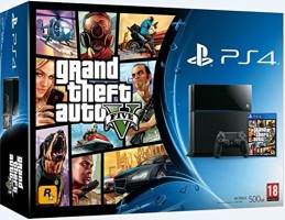 """Console PS4 pack """"GTA V"""""""