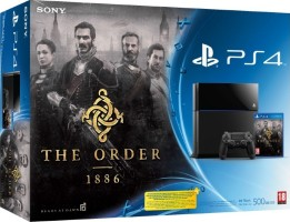 "Console PS4 pack ""The Order 1886"""