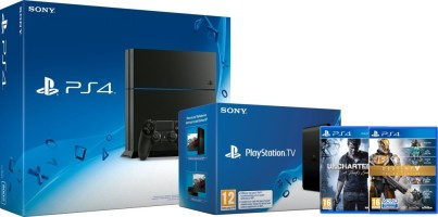 PS4 500 Go + Uncharted 4 + Destiny : La Collection