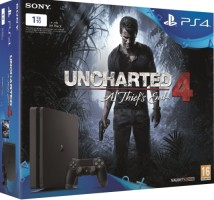 PS4 Slim 1 To pack Uncharted 4
