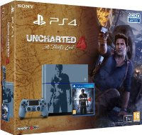 """PS4 1 To édition limitée """"Uncharted 4"""""""