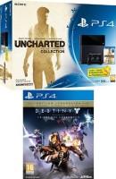"""PS4 pack """"Uncharted"""" + Destiny : le roi des corrompus"""