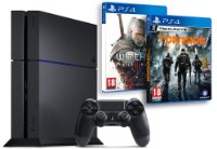 PS4 1To + The Division + The Witcher 3 : Wild Hunt