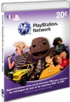 Carte Playstation LiveCard 20€ (PS3)
