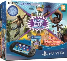 Pack PS Vita + Carte mémoire 8 Go + Uncharted : Golden Abyss + Little Big Planet + Tearaway + When Viking Attack
