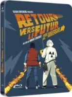 """Trilogie """"Retour vers le futur"""" édition steelbook 30e anniversaire (blu-ray)"""