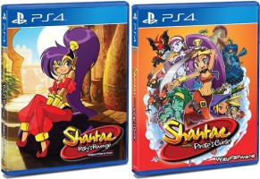 Shantae Risky's Revenge / Shantae and the Pirate's Curse (PS4)