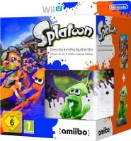 Splatoon édition limitée avec amiibo calamar Inkling (Wii U)