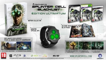 Splinter Cell Blacklist édition collector ultimatum