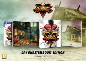 Street Fighter V édition steelbook  (PS4)