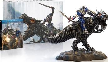 Transformers : l'âge de l'extinction édition limitée Dinobot (blu-ray)
