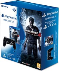 Pack DualShock 4 + Uncharted 4 : A Thief's End (PS4)