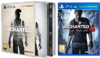 Uncharted : The Nathan Drake Collection édition spéciale + Uncharted 4 : A Thief's End (PS4)