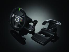 Volant + pédalier Madcatz (Xbox 360)