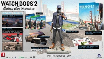 "Watch_Dogs 2 édition collector ""San Francisco"""