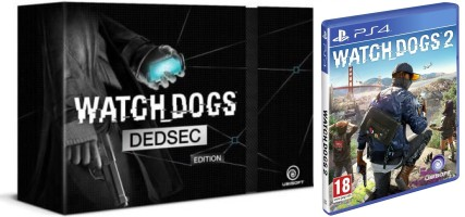 Watch_Dogs 2 + Watch_dogs édition collector Dedsec (PS4)