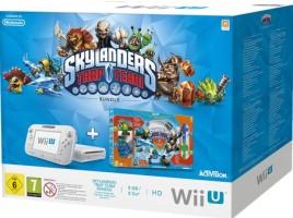 """Wii U 8 Go blanche pack """"Skylanders : Trap Team"""""""
