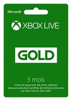 Abonnement Xbox Live Gold 3 mois (Xbox One, Xbox 360)