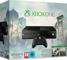 """Console Xbox One pack """"Assassin's Creed: Unity + Assassin's Creed IV : Black Flag"""""""