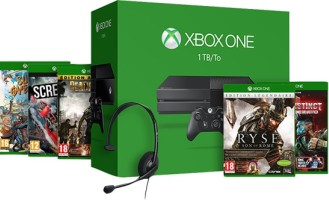 Xbox One 1 To + 5 jeux