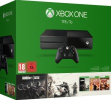 Xbox One 1 To + Rainbow Six Siege + Rainbow Six Vegas 1 & 2