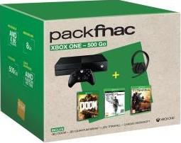 Xbox One 500 Go + Doom + Quantum Break + Titanfall + casque officiel