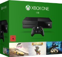 Xbox One 1 To + Forza Horizon 2 + Rare Replay + Ori and the blind forest