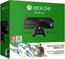 Xbox One 500 Go + Quantum Break + Alan Wake