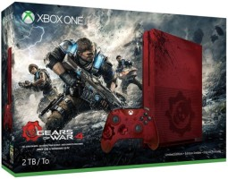 """Xbox One S 2To édition limitée """"Gears Of War 4"""""""