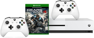 Xbox One S 500 Go + manette supplémentaire + Gears of War 4