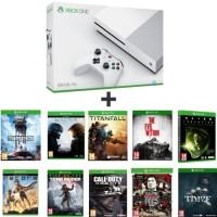 Xbox One S 500 Go + 8 jeux