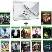 Xbox One S 500 Go + 12 jeux