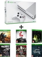 Xbox One S 500 Go + 6 jeux