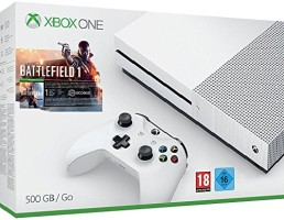 """Xbox One S 500 Go pack """"Battlefield 1"""""""