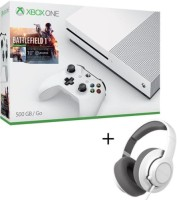 "Xbox One S 500 Go pack ""Battlefield 1"" + casque SteelSeries Siberia Raw"