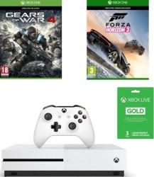Xbox One S 500 Go + Gears of War 4 + Forza Horizon 3 + 3 mois de Xbox Live