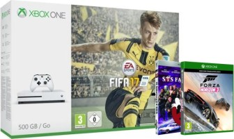 Xbox One S + FIFA 17 + Forza Horizon 3