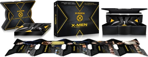 Coffret X-Men - The Ultimate Collection édition limitée (blu-ray)