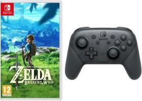 The Legend of Zelda : Breath of the Wild + Manette Pro Nintendo Switch