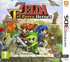 The Legend Of Zelda : Tri Force Heroes (3DS)